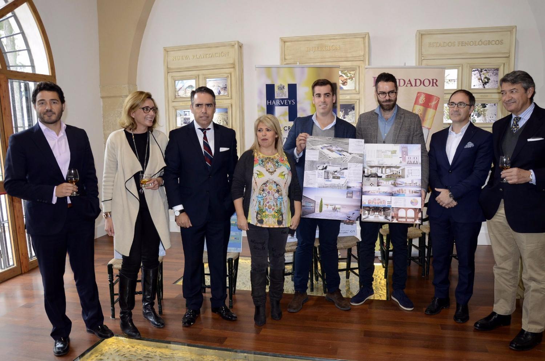 Fundador convertirá el Castillo de Macharnudo en un proyecto enoturístico