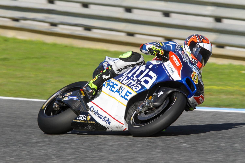 Héctor Barberá logra el mejor tiempo en el Circuito de Jerez