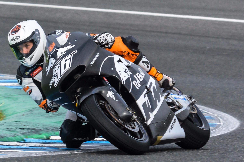 La lluvia marca la última jornada de entrenamientos en el Circuito de Jerez